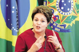 Resultado de imagen para Dilma Rousseff, presidenta de Brasil.