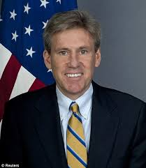 Killed: Christopher Stevens was a career diplomat who died as he tried to evacuate staff from the US consulate in Benghazi. U.S. officials say the Pentagon ... - article-2201780-14FA5503000005DC-398_472x545