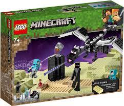 Купить <b>Конструктор LEGO Minecraft Последняя</b> битва с ...