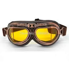 <b>Evomosa</b> New Universal <b>Vintage</b> Pilot Biker Motorcycle Goggles ...