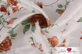 Материал TexRepublic Bright <b>Flowers Цвет</b>: Персиковый Китай ...