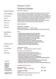 warehouse manager resume  examples  job description  stock    warehouse manager resume  examples  job description  stock management  distribution  career history