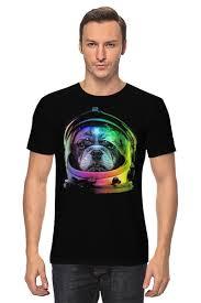 <b>Футболка классическая Собака</b> Космонавт #690616 от printik по ...