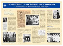 """<b>Dr</b>. <b>John</b> H. Gibbon, Jr. and Jefferson's Heart-Lung Machine ..."