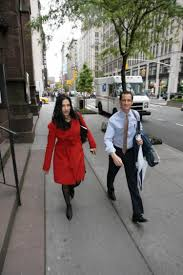 senator questions weiner s wife about clinton consultant jobs anthony weiner and huma abedin take a lunchtime stroll uptown near their home