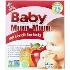 Hot Kid Teething Wafer <b>Baby Mum</b>-<b>Mum</b>