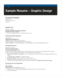 sample graphic designer resume examples in word pdf graphic designer resume pdf