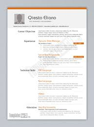 cover letter great resume templates top resume templates cover letter resume examples great ms word resume templates career objective experience technical skills php language