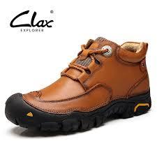 CLAX <b>Men's Ankle</b> Boots <b>2019 Autumn</b> Winter Work Boot Genuine ...