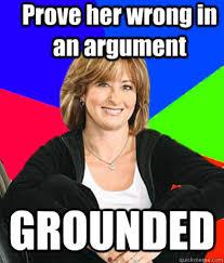 Sheltering Suburban Mom | Know Your Meme via Relatably.com