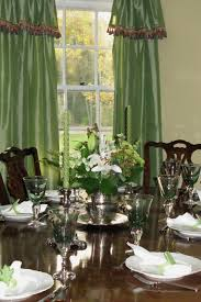 Dining Room Curtain Pretty Design Dining Room Curtains Double Panel Striped Pattern