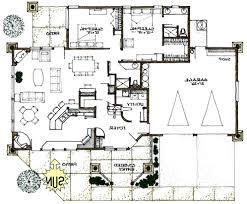 RUSTIC  Green Energy Efficient Home Passive Solar House PlanView Reverse Floor Plan Image