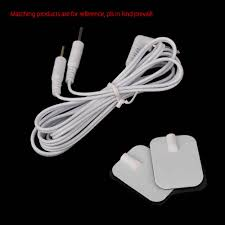 2 Pins <b>Electrode Lead Wires Connecting</b> Cables For Electrode Pad ...
