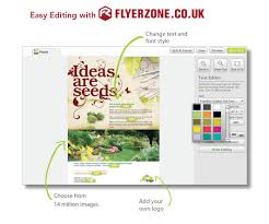 design and print flyers and leaflets for gardeners onlineflyerzone the right design for you