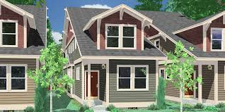 Narrow Lot House Plans  Building Small Houses for Small Lots Narrow lot house plans  house plans   rear garage  bedroom house plans