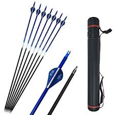 <b>SHARROW</b> 12pcs Archery Carbon <b>Arrows</b> 30 inch Hunting Target ...