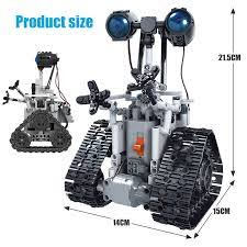 <b>ERBO 408PCS City Creative</b> RC Robot Electric Building Blocks ...