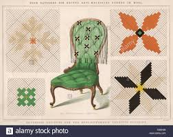 stock photo woollen antimacassar intended to protect furniture from the macassar oil widely used as hair dressing it has become the archetype of archetype furniture