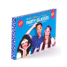 <b>Бумажные очки для вечеринок</b> crazy glasses