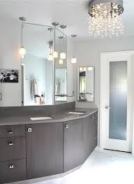 small bathroom crystal chandeliers bathroom chandelier lighting ideas