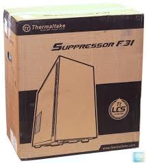Обзор и тест MidTower <b>корпуса Thermaltake Suppressor</b> F31 ...