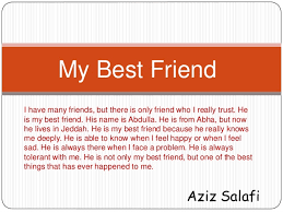 Write an essay about your best friend A Best Friend is essays Write An Essay Describing
