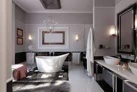 medium size elegant art deco bathroom