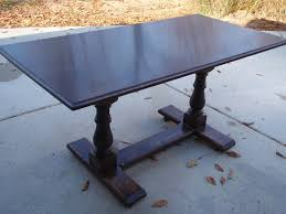 park avenue trestle dining table leaf x px of trestle dining table table