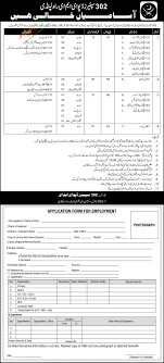 opportunities in spares depot eme rawalpindi online career opportunities in 302 spares depot eme rawalpindi online application form