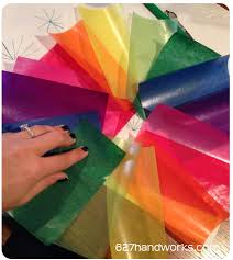 627handworks paper crafts the only supplies you need is the colored kite paper some type of glue i like rubber cement and your fingers