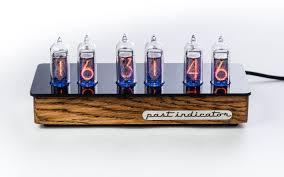Ламповые часы ручной работы <b>Восток</b>-1 Дуб / Handmade nixie ...