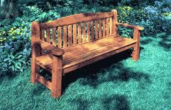 the garden bench cedar bench plans