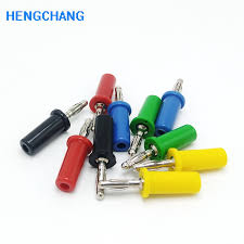 5 color <b>4mm</b> banana <b>jack Pure</b> copper 15A large current <b>4mm</b> ...