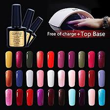 New Brand CLHVUZ <b>Gel Polish Set</b> UV Led Soak Off Nail Varnish ...