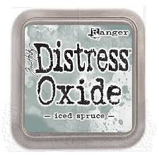 Image result for distress oxide iced spruce