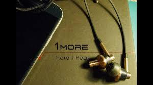 Обзор <b>наушников 1More Triple Driver</b> In-Ear Headphones. - YouTube