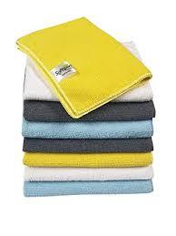SOFTSPUN <b>Microfiber</b> Cleaning Cloths, <b>8 pcs</b> 30x40cms 280GSM ...
