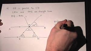 geometry angles and parallel lines solving problems