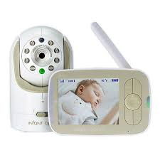 Infant Optics DXR-8 <b>3.5</b>-<b>Inch</b> LCD <b>Video</b> Baby Monitor in White/Beige
