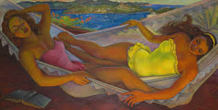 The <b>Hammock</b> - Diego Rivera — Google Arts & Culture