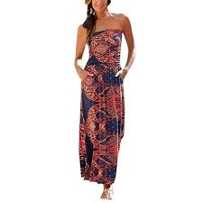 LOPILY <b>2019</b> Summer Casual Dress <b>Women Sexy</b> Bandeau ...