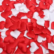 <b>100pcs Romantic Sponge Heart</b> Shaped Throwing Confetti For ...