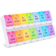 DANYING New Version Large 7 Day Pill Organizer 2 ... - Amazon.com