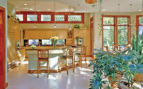 Ranch Homes Benefits  amp  Trends   House Plans and Moreenergy efficient ranch home plan interior