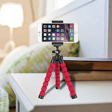 Flexible <b>Mini Octopus Tripod Bracket</b> Holder Mount for iPhone Cell ...