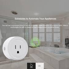 Adjustable <b>Power Universal</b> Smart Mini <b>WiFi</b> Plug Outlet Switch work ...