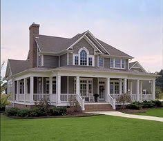 ideas about Wrap Around Porches on Pinterest   House plans    Love this farm house and wrap around porch  sqft