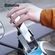 <b>Baseus Motorcycle</b> Moto Bicycle <b>Holder</b> Stand <b>Mount</b> Phone <b>Holder</b>