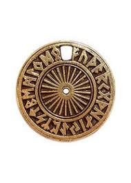 <b>Амулет</b> металлический №58 «Магический <b>рунический</b> круг «Футарк
