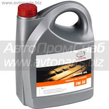 <b>Моторное масло TOYOTA Engine Oil</b> PFE 5W-30, 5 л / 08880-83389